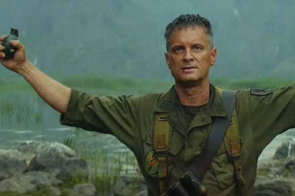 Joker: Shea Whigham es su papel como militar en la película de Kong: Skull Island