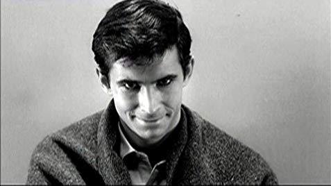 La mirada penetrante y psicótica de Norman Bates, una mirada con la que solo Anthony Perkins logró perturbarnos.