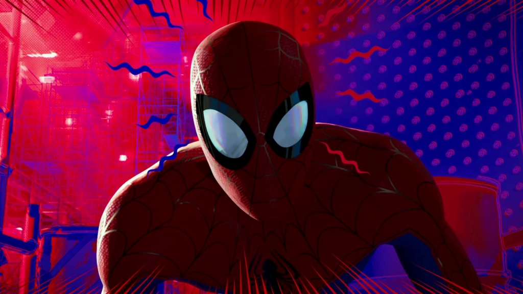 Peter Parker del universo Ultimate en Into The Spiderverse