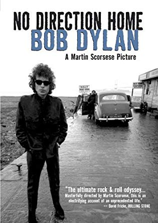 "Afiche de ""No Direction Home: Bob Dylan"", anterior proyecto de la fórmula Dylan - Scorsese."