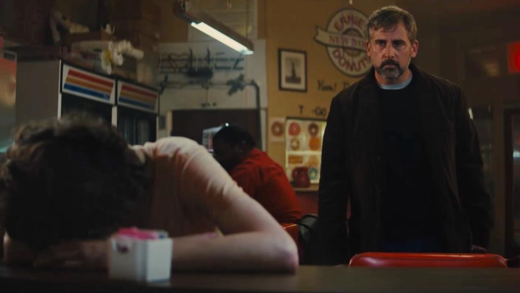 Steve Carell ve a su hijo con el efectos de las drogas