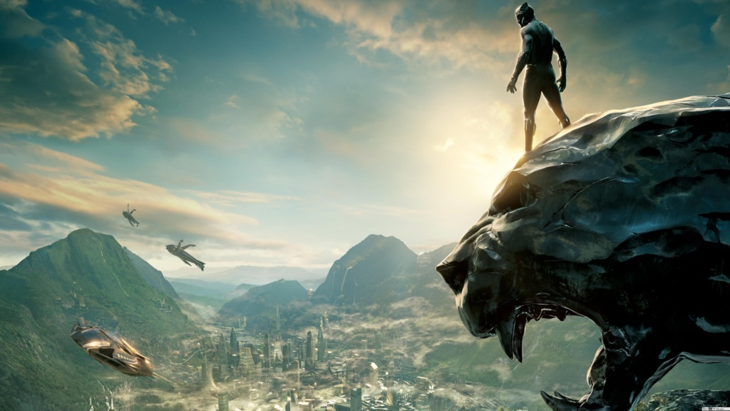 poster de película Black Panther en Wakanda