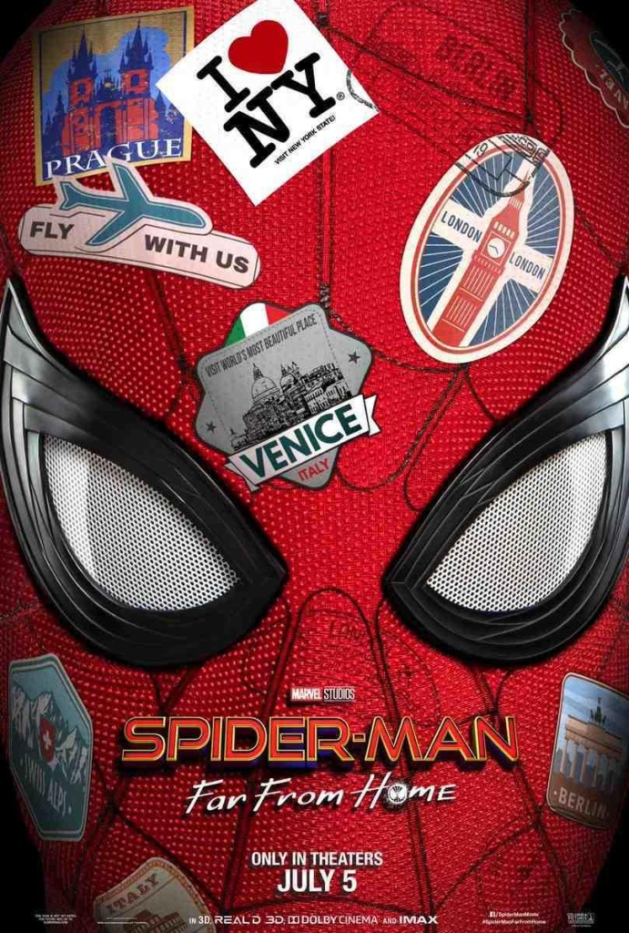 poster de spiderman far from home