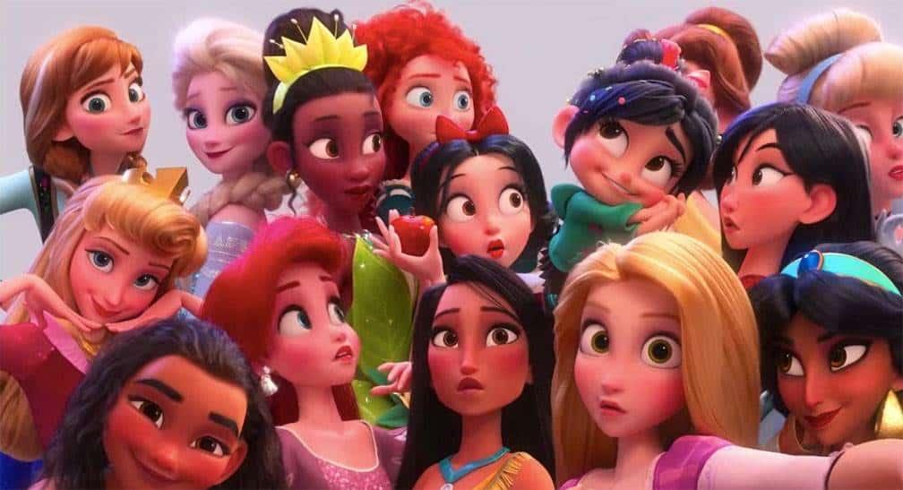 Wifi Ralph, las princesas