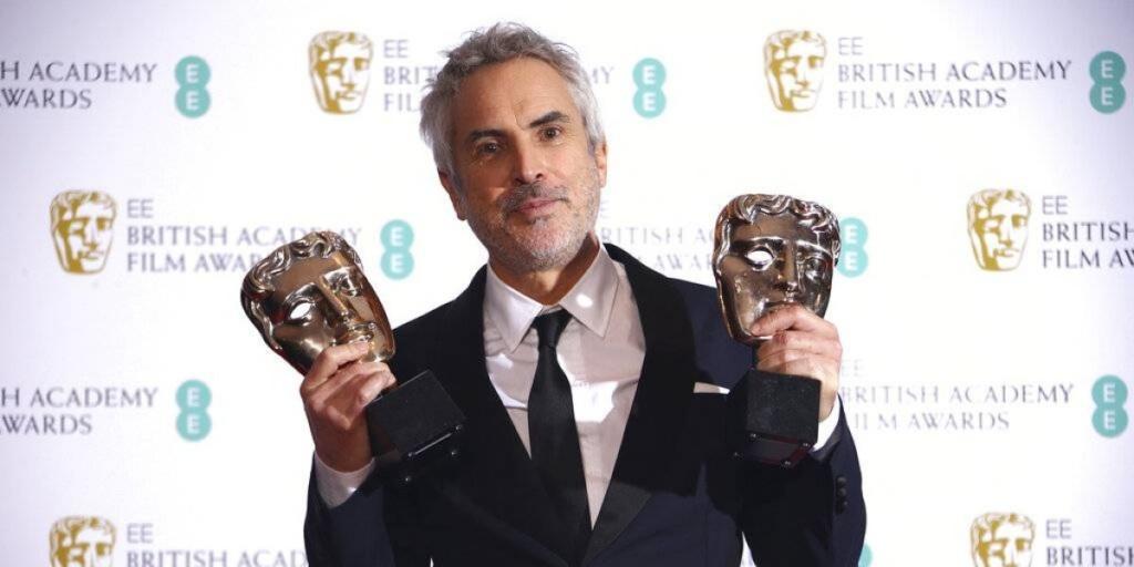 BAFTA / Alfonso Cuaron recoge sus premios