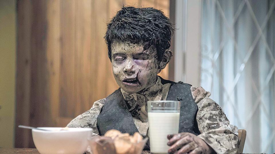 aterrados / cadaver tomando leche