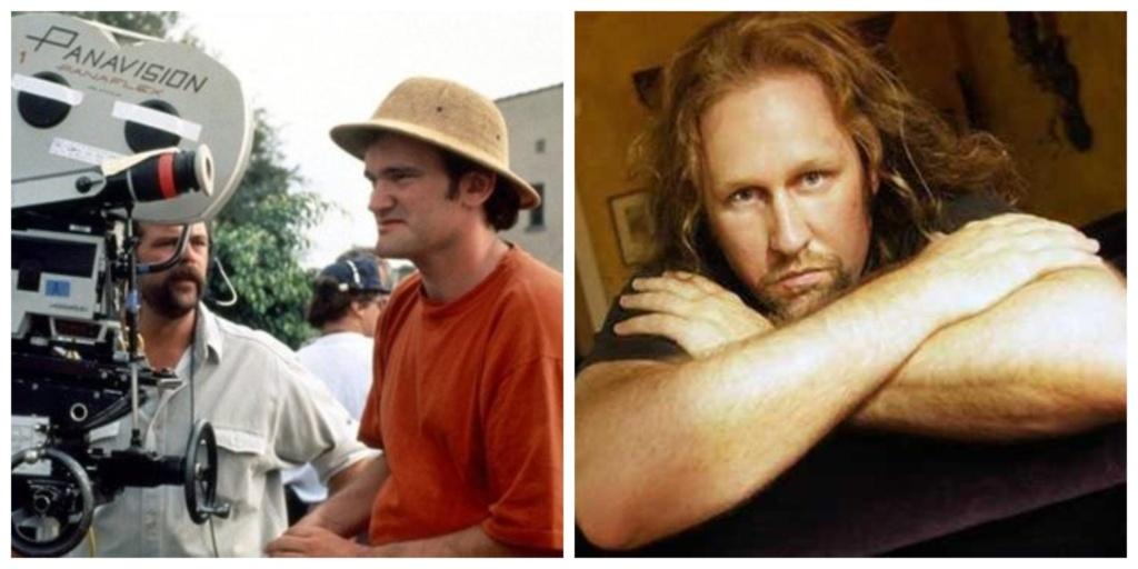 "Izquierda: Quentin Tarantino. Derecha: Roger Avary. Guionistas de ""Pulp Fiction""."