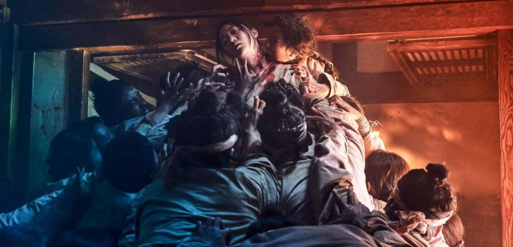 kingdom foto promocional muerte de zombies