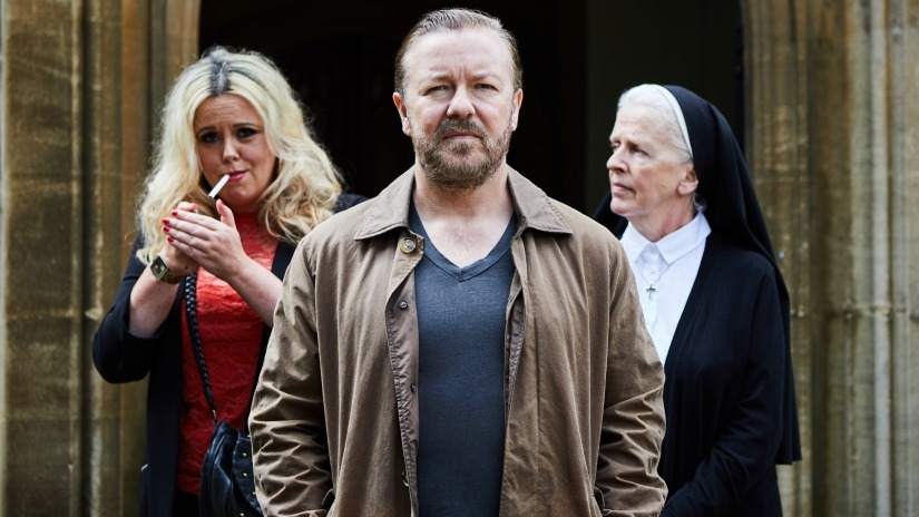 After Life/ Ricky Gervais /Netflix