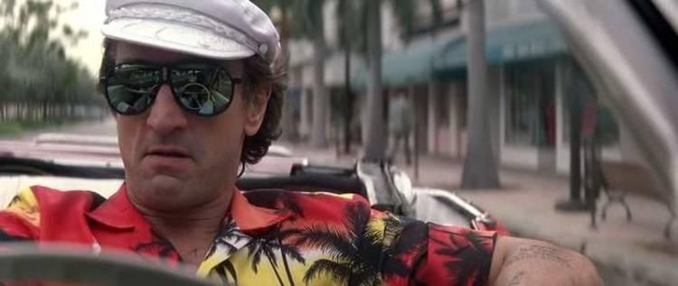 Robert De Niro como Max Cady en El Cabo del Miedo (1991).