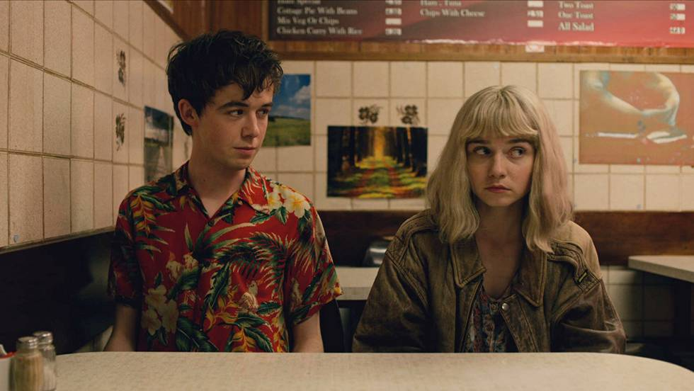 Ambos personajes de 'The End of the F***ing World' perdidos