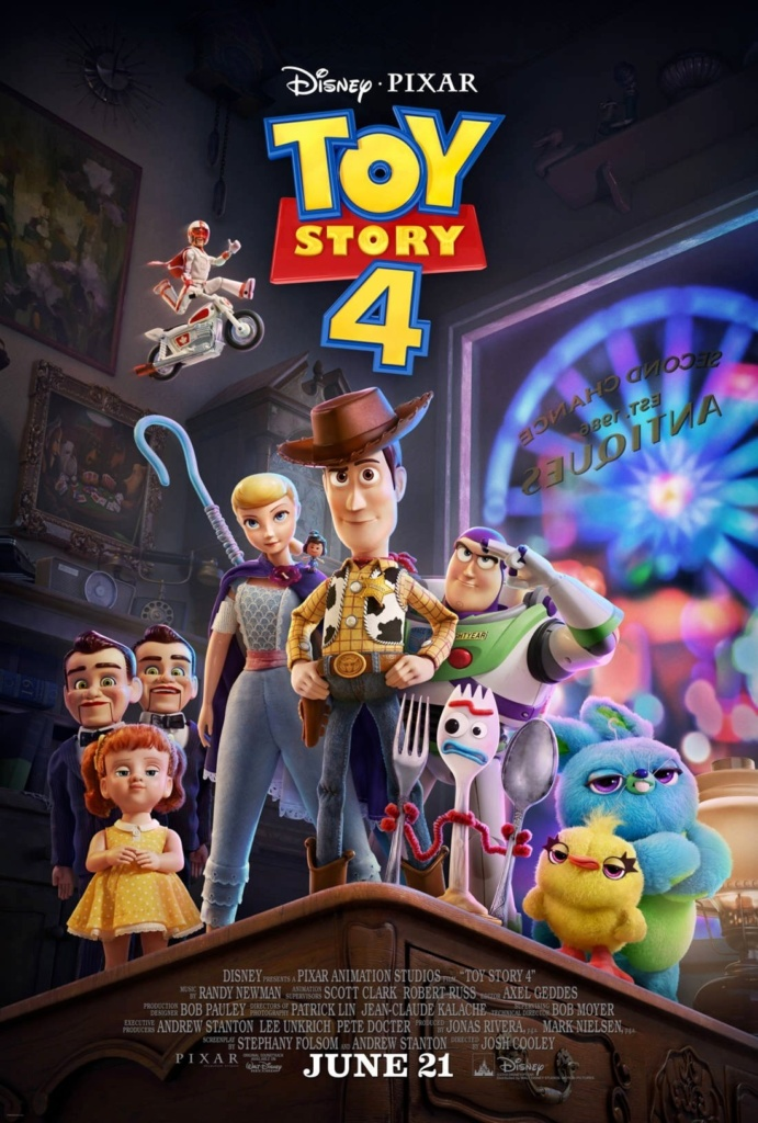 poster oficial toy story 4