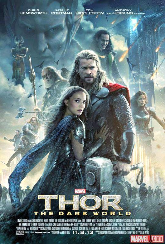 Thor, The Dark World poster