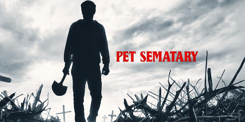 "Poster de ""Pet Sematary"" (2019)."