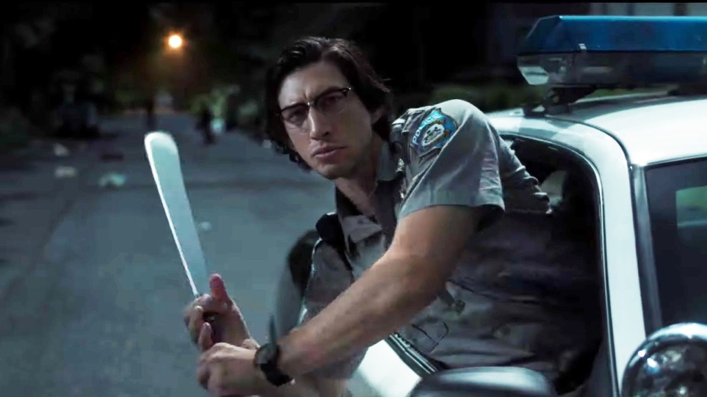 Adam Driver como policia, The Dead Don't Die