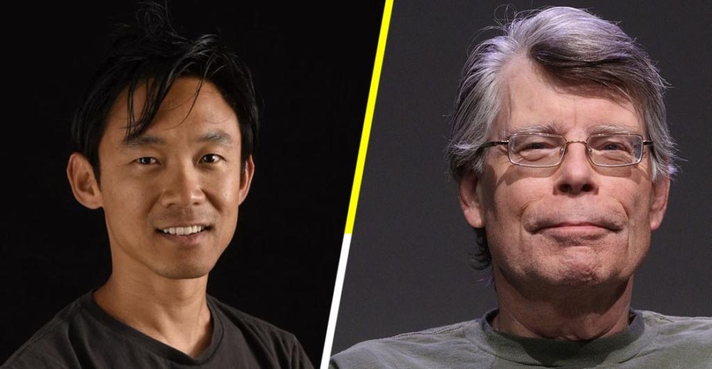 Izquierda: James Wan, director y productor. Derecha: Stephen King, escritor.