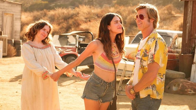 Brad Pitt es Cliff Booth, el galán de la película.