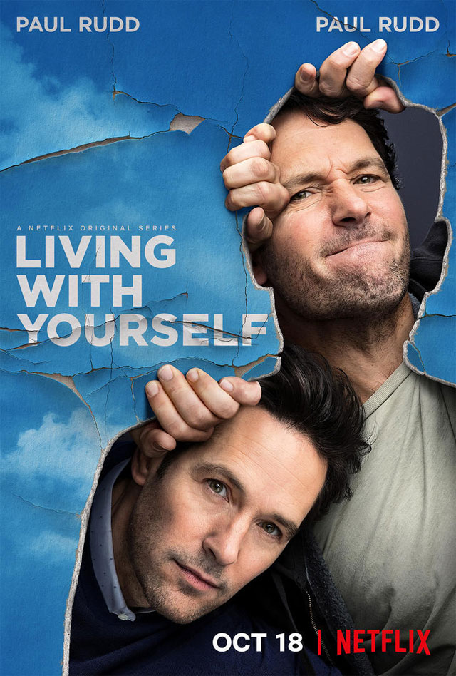 "Póster oficial de ""Living With Yourself""."