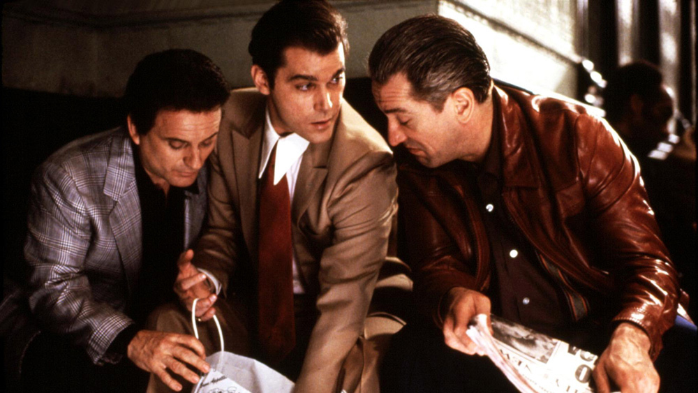 El elenco perfecto, de izquierda a derecha: Joe Pesci, Ray Liotta y Robert De Niro.
