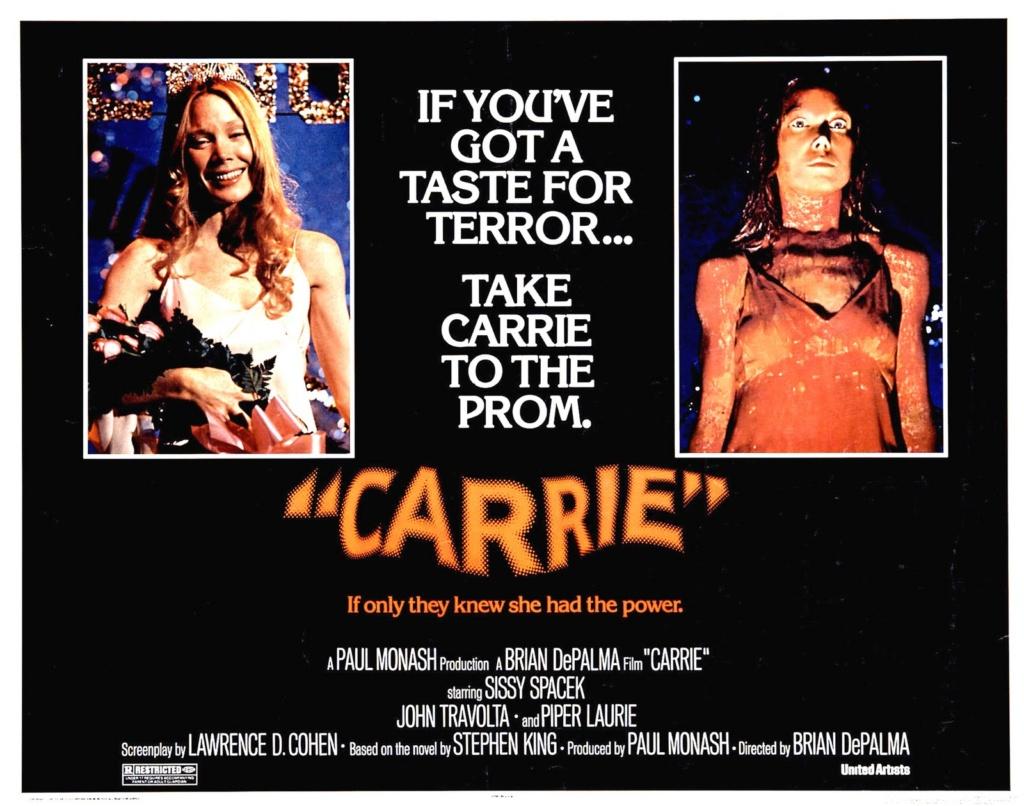 Si tenes un deseo de terror, llevá a Carrie al baile de graduación.