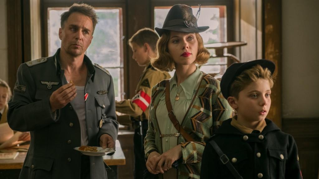 Jojo Rabbit/ Taika Waititi/ Roman Griffin Davis/ Scarlett Johansson/ / Sam Rockwelll/ Oscar