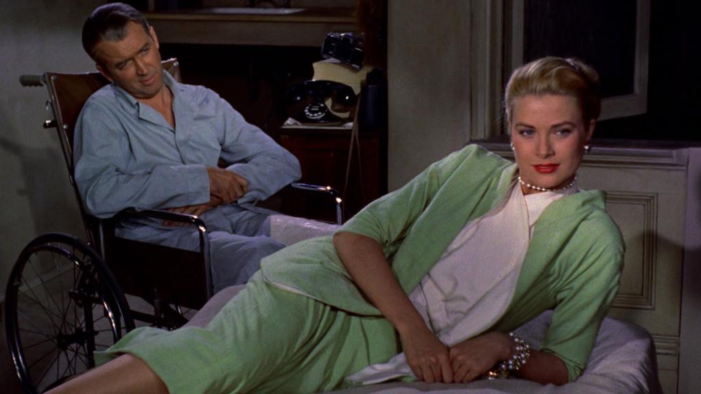 James Stewart y Grace Kelly en 'La Ventana Indiscreta'.