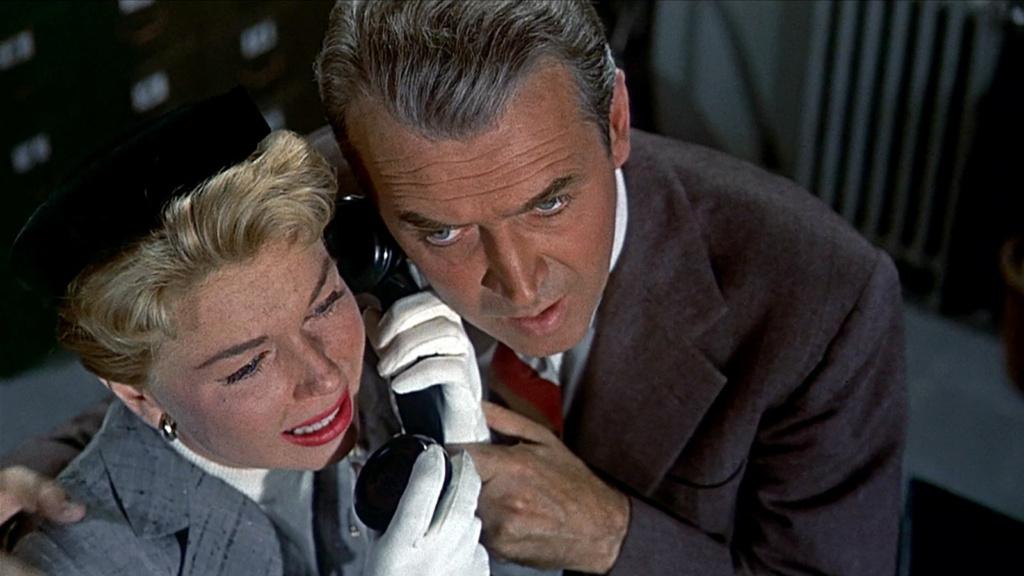 Doris Day y James Stewart en la remake de la película de 1934 con el mismo nombre.