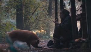 Nicolas Cage y su cerdo
